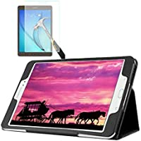 "Capa Agenda Tablet Samsung Galaxy Tab A 8"" SM-P350 / P355 / T350 / T355 + Película de Vidro"