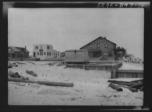 1927 Photo New York City views, Long Beach vintage black & white photo F402