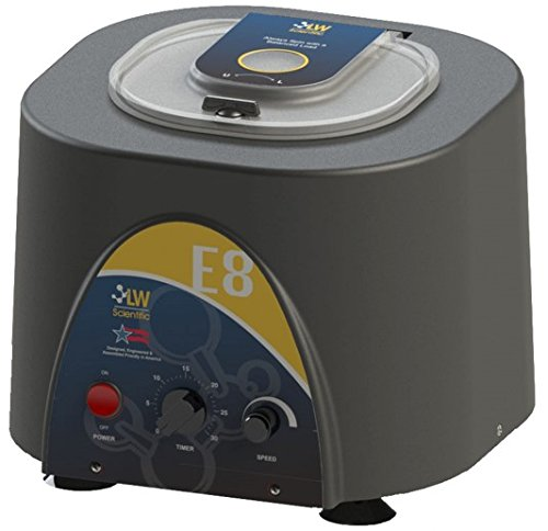 LW Scientific E8C-U8AV-1503 Variable Speed E8 Centrifuge, Angled 8-Place with Timer, 110/220V by LW Scientific