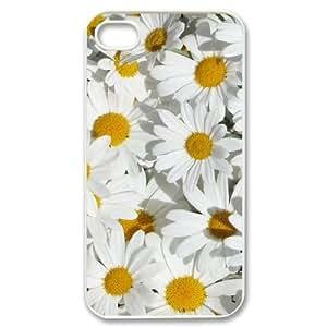 Custom iPhone 4,4S Case, Zyoux DIY Brand New iPhone 4,4S Case - Chrysanthemum