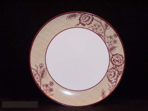 Noritake Tapestry Rose 11-Inch Coupe Dinner Plate