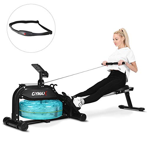 GOPLUS Water Rowing Machine