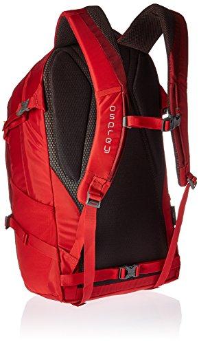 Osprey–Mochila para hombre Quasar 285–�?72 robust red