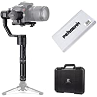 Zhiyun Crane V2 3 Axis Brushless Handheld Gimbal Stabilizer 3 32Bit MCUs Brushless Motors With Encoders for Mirrorless Camera from 0.77 Lb to 3.96 Lb, i.e. Canon M, Nikon J, Sony A7 and Panasonic GH4