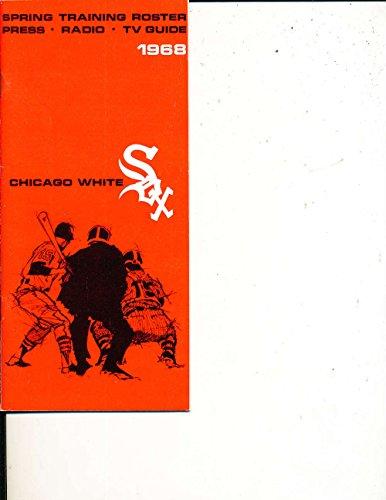 1968 Chicago White Sox Spring Training Media Press Guide MLBmg1