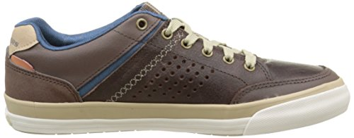 Skechers Diamondback Rendol, Scarpe da Ginnastica Basse Uomo Marrone (Marron/Dark Brown)