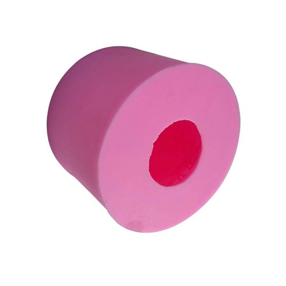 Lembeauty 3D DIY stampo in silicone a forma di gufo animale Handmade sapone pudding Mold Plant Vulcano modello artigianale scultura torta decorazione auto display candela gesso Mold A colore casuale