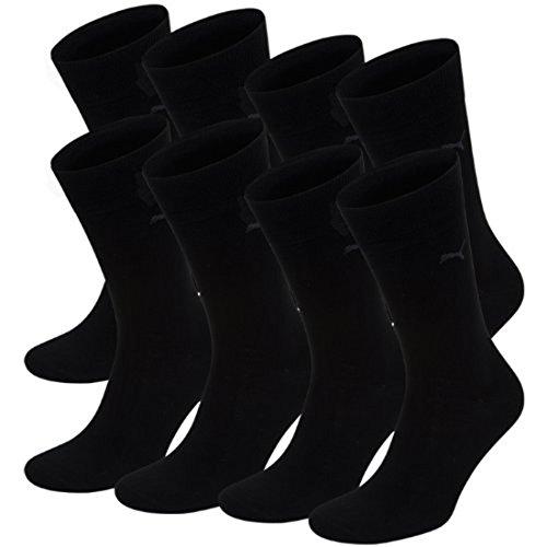 PUMA Herren Classic Casual Business Socken 8er Pack black 200 - 43/46