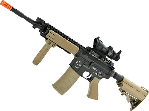 Evike King Arms TWS M4 VIS Airsoft AEG (Color: Desert/Carbine)