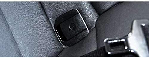 ACAMPTAR Car Sedile Posteriore Gancio Isofix Protezione per Bambini per X1 E84 3 Serie E90 F30 1 Serie E87 Gancio per Sedile Posteriore Auto