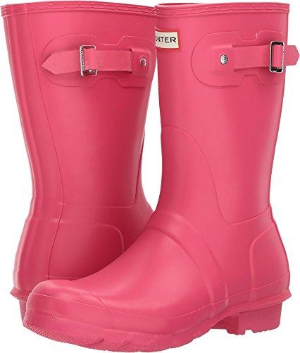 Hunter Womens Original Short Bright Pnk Rain Boot - 9 B(M) US