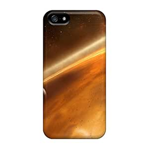 New Hard Cases Premium Iphone 5/5s Skin Cases Covers(space)