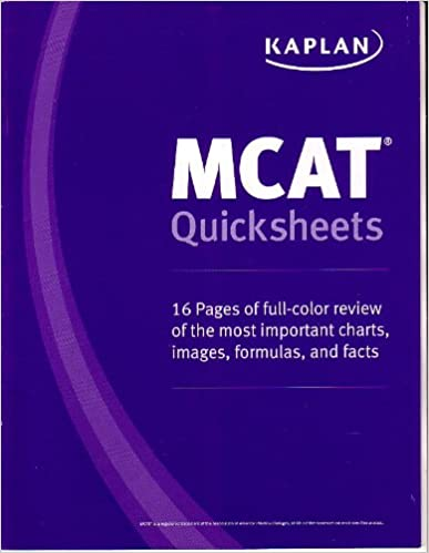 Kaplan mcat quick sheets kaplan 9781609786144 amazon books kaplan mcat quick sheets no edition edition fandeluxe Image collections