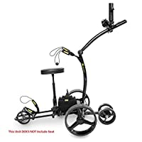 Bat-Caddy X4R Sport Remote Control Cart w/ Free Accessory Kit, 35Ah, Black