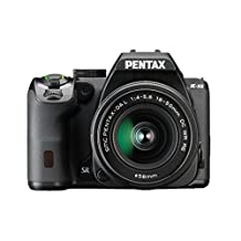 Pentax K-S2 20MP Wi-Fi Enabled Weatherized SLR, Black
