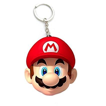 Super Mario Bros: Llavero Silicona: Amazon.es: Juguetes y juegos