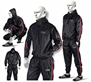 RAD Sauna Suit Men, Women Weight Loss Jacket Pant Gym Workout Sweat Suits with Hood