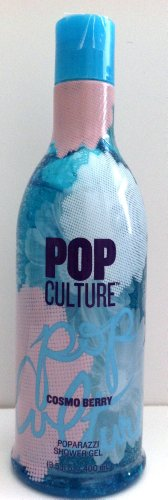 Bath & Body Works Pop Culture Cosmo Berry Poparazzi Shower Gel 13.5 oz Pop Beauty Lid Collection