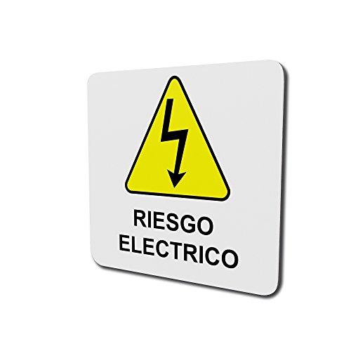Riesgo eléctrico 150mm de ancho por 150mm de altura