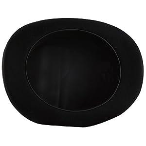 Black Top Hat, Lined Wool Felt