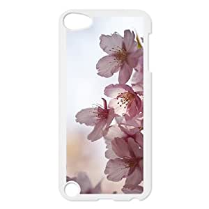 Beautiful cherry blossoms Unique Design Cover Case with Hard Shell Protection for Ipod Touch 5 Case lxa#475027