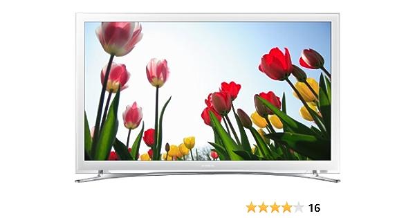 Samsung UE22F5410 - Televisor LED de 22 pulgadas con SmartTV (Full HD 1080p, Clear Motion Rate 100 Hz) color blanco: Amazon.es: Electrónica
