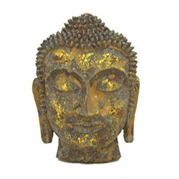 Antique Reproduction Wall Decor - Antique Reproduction Wall Decor Buddha Mask