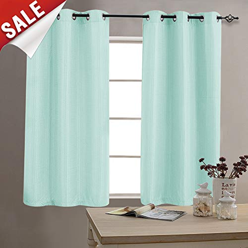 Privacy Window Curtains for Living Room 63 inch Length Darke