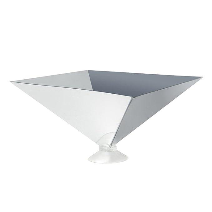 Sharplace Klar 3D Hologramm Display Pyramide Projector Fit Holographic St/änder f/ür iPhone Handy Smartphone