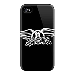 Shockproof Cell-phone Hard Covers For Iphone 6 With Customized High Resolution Aerosmith Pattern MansourMurray