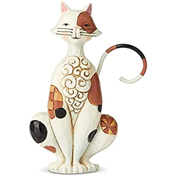 Heartwood Creek Jim Shore 6004295 Christmas Kitten Cat Miniature Figurine