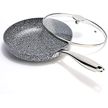 Amazon Com Carote 12 Inch Frying Pan Pfoa Free Stone