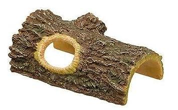 Petco Log Reptile Hideaway, lizard, cages, reptile, aquarium