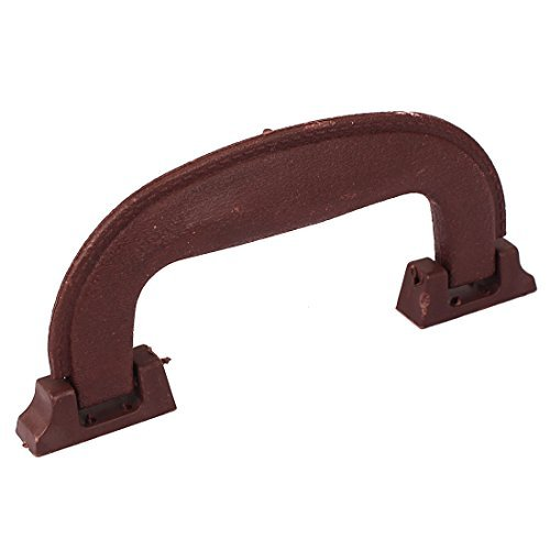 Brown Largo Furniture - DealMux 145mm Long Plastic Luggage Part Suitcase Side Carrying Pull Handle Brown