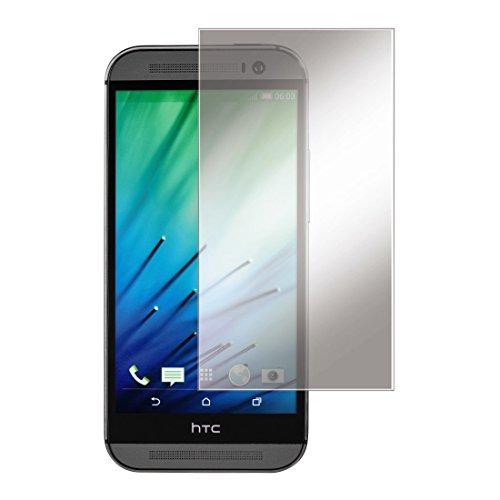 Hama Displayschutzfolie (geeignet für HTC One M8/M8s, 2er Set, einfache Anbringung, Ultra-HD Qualität, passgenauer Präzisions-Laser-Cut, inkl. antistatischem Mikrofasertuch) transparent