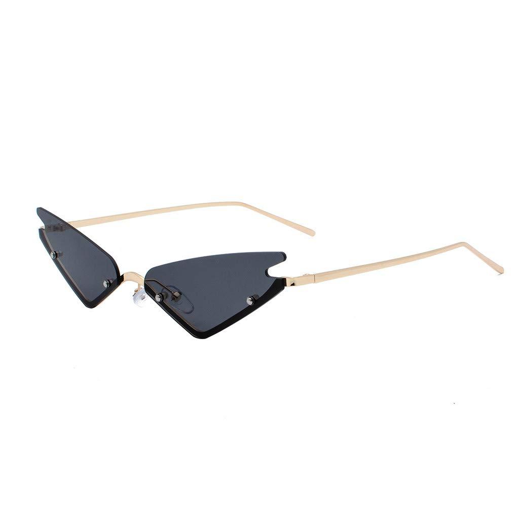 SERYU Polarized Sunglasses for Women, Mirrored Lens Fashion Goggle Eyewear Black