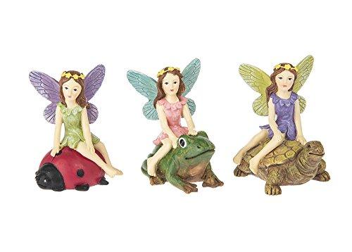 Woodland Garden Gnome - Set of 3 Assorted Ganz 3