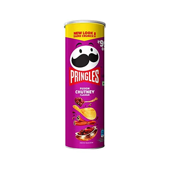 Kellogg's Pringles Fusion Chutney, 107g