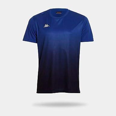 Camiseta Kappa Clair Azul Masculina GG  Amazon.com.br  Amazon Moda 2127d2b174e3e