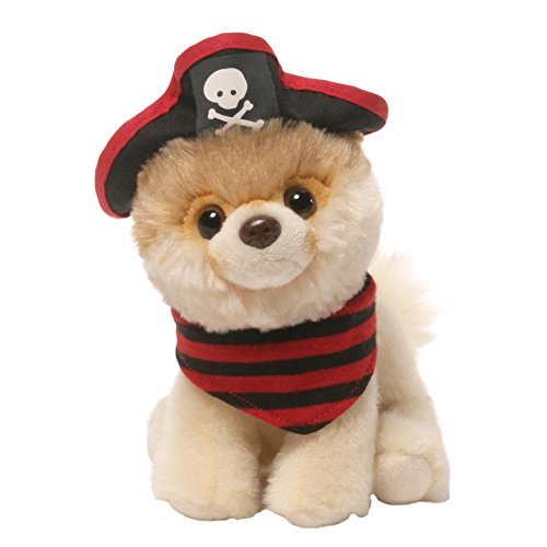 Cross Eyed Cat In Costumes (Gund Itty Bitty Boo #032 Pirate Plush, 5
