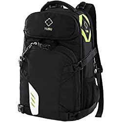 Camera Laptop Backpack for Outdoor Travel Hikng fit 2 DSLR / SLR 4-6 Lenses Women and Man by TUBU