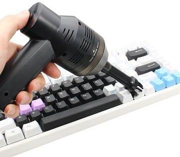 Wonyered Mini limpiador de teclado con USB recargable inalámbrico aspiradora de escritorio
