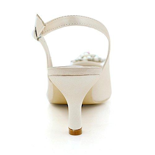 Matrimoni L Di Party 20w Scarpe Tacchi Yc amp; Colori Grigio 1608 Più Punta Donne Sera Disponibili Alti PTHwntUqR