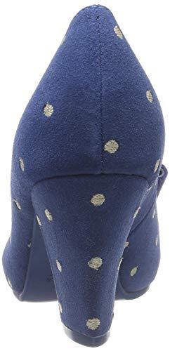 Lola Escarpins Femme Fermé Ramona Bleu Elsa Bout 50 Blue 6rqw6ZBEx