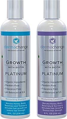DermaChange - Platinum Shampoo & Conditioner Set