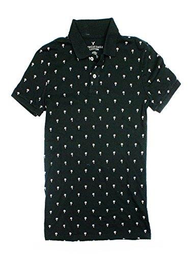 American Eagle Solid Pique Shirt