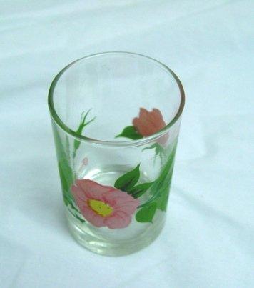 Beautiful Franciscan Desert Rose 6 Oz Juice Glass