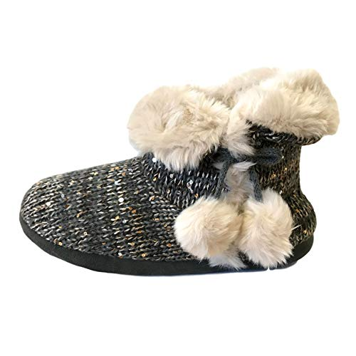 Co Pom Outlet Femme pom The Chaussons Sequin City EYqpwp