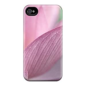 Cute Tpu LisaMichelle Flower Pink 1080p Hd Case Cover For Iphone 4/4s