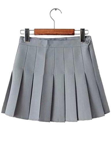 Imagine Girl's Short Pleated School Dresses for Teen Girls Tennis Scooters Skirts Skate Skirts LY-M